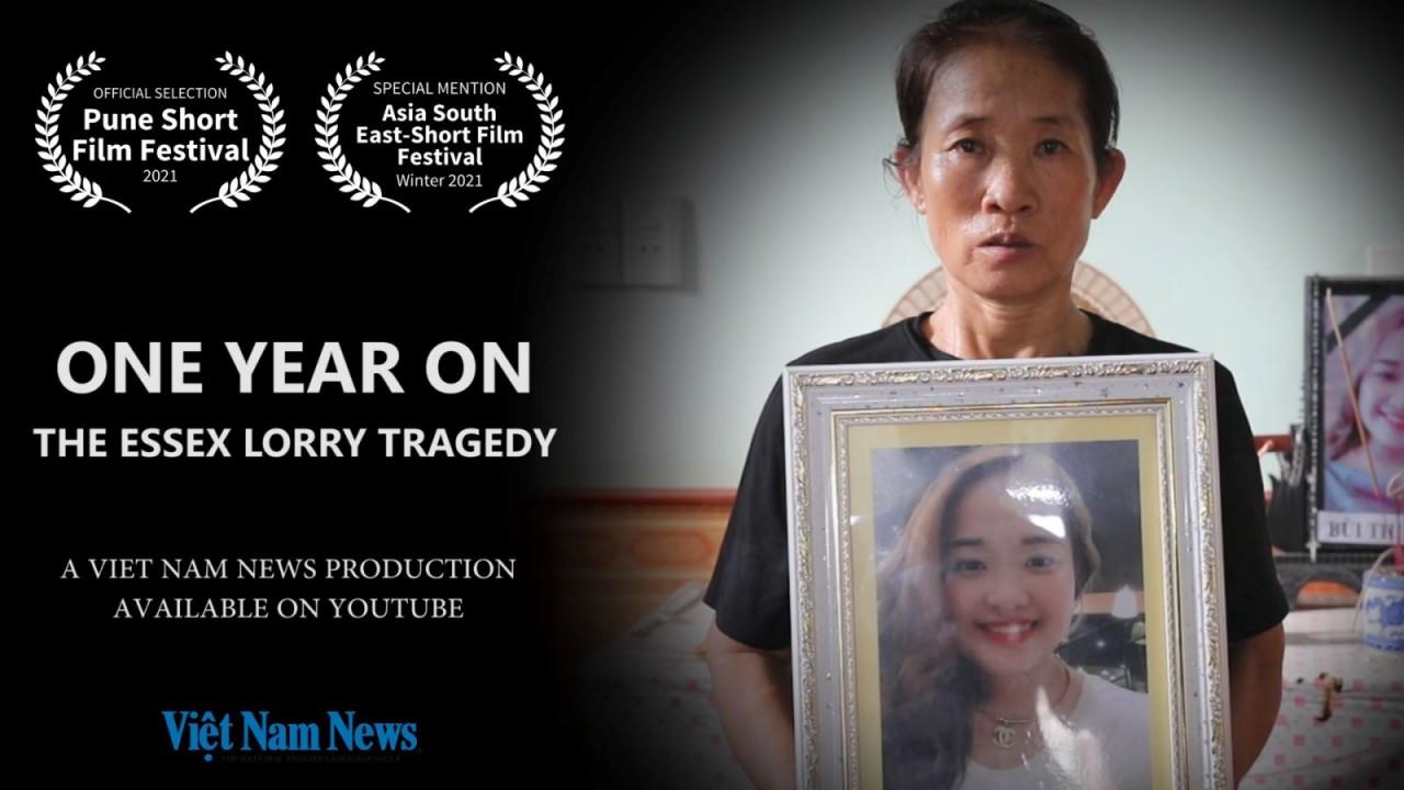 Phim của Việt Nam News về 1 năm sau thảm kịch xe tải Essex tham dự Liên hoan phim Pune