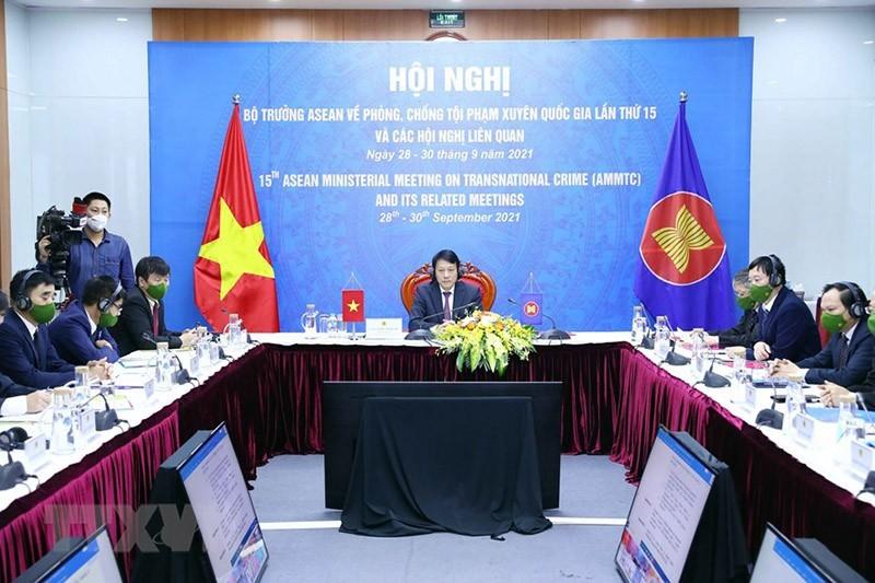 Hội nghị Bộ trưởng ASEAN về phòng, chống tội phạm xuyên quốc gia lần thứ 15