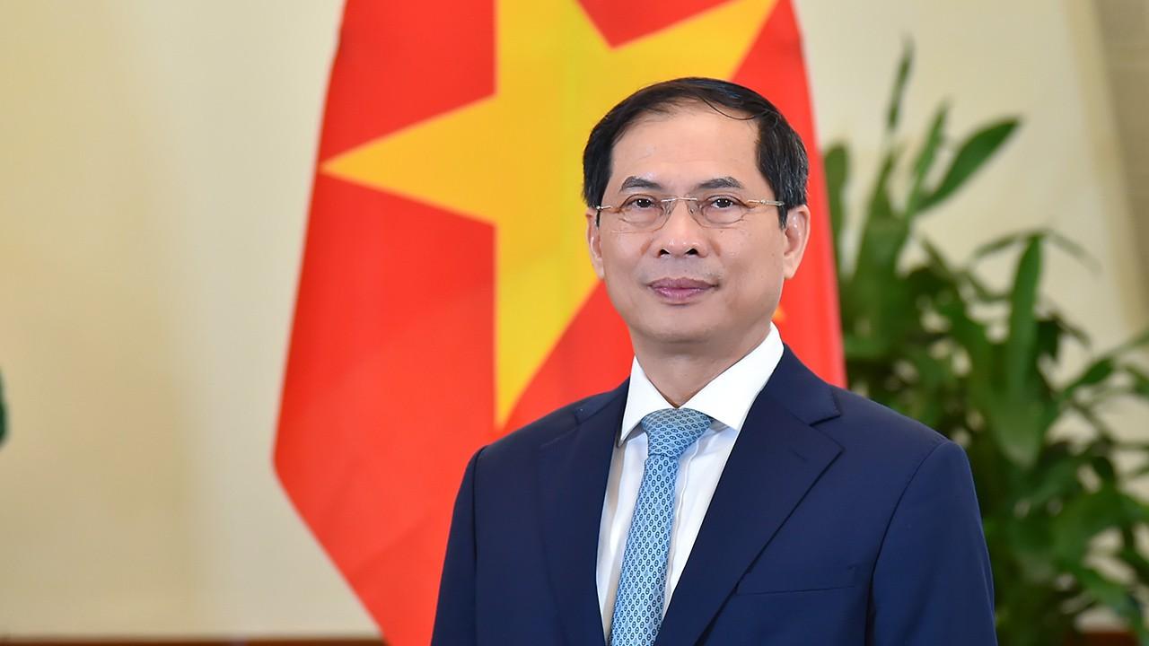 Bộ trưởng Ngoại giao Bùi Thanh Sơn phát biểu tại phiên toàn thể Khóa họp lần thứ 15 của UNCTAD