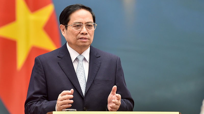 Thủ tướng Phạm Minh Chính phát biểu tại Diễn đàn Tuần lễ năng lượng Nga