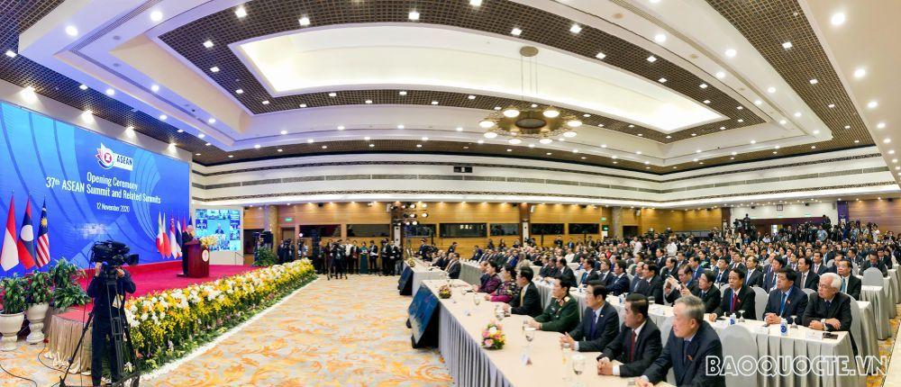 Toàn cảnh Lễ khai mạc Hội nghị Cấp cao ASEAN 37 và các Hội nghị Cấp cao liên quan
