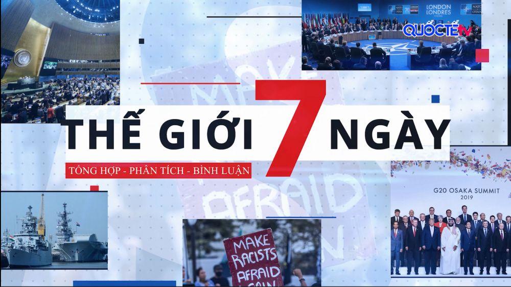 BẢN TIN THẾ GIỚI 7 NGÀY, thứ Sáu ngày 25/12/2020